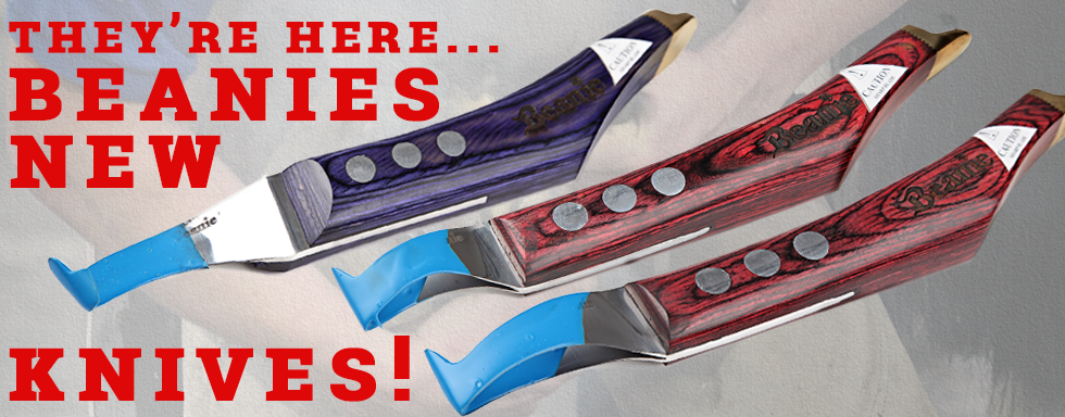Steven Beane Curved Blade RH Purple