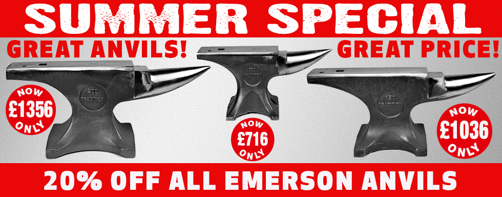 Emerson Anvils Offer