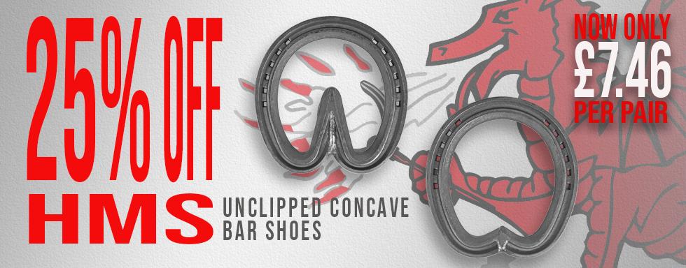 25%off Concave Bar Shoes