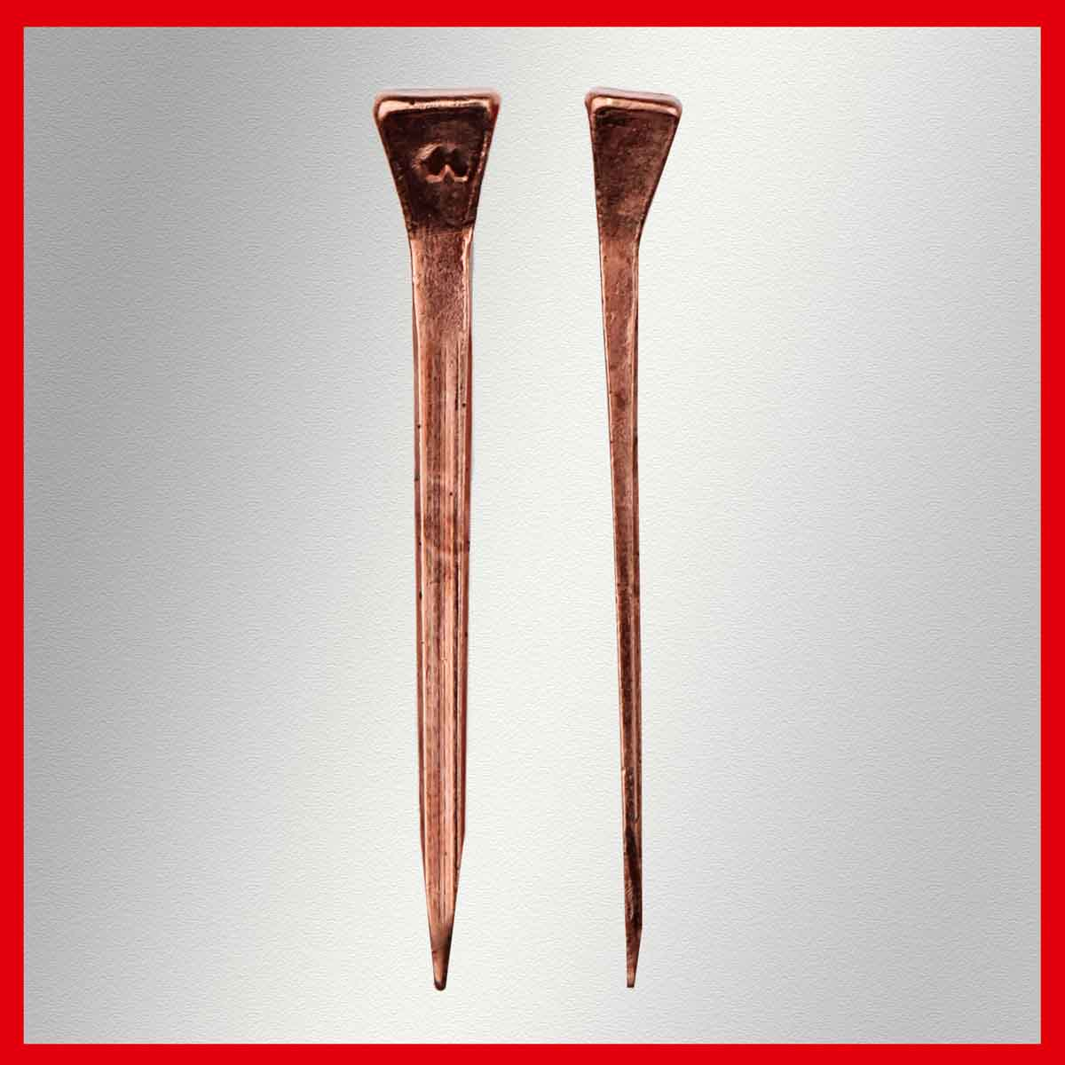 Mustad Copper Concave Nail