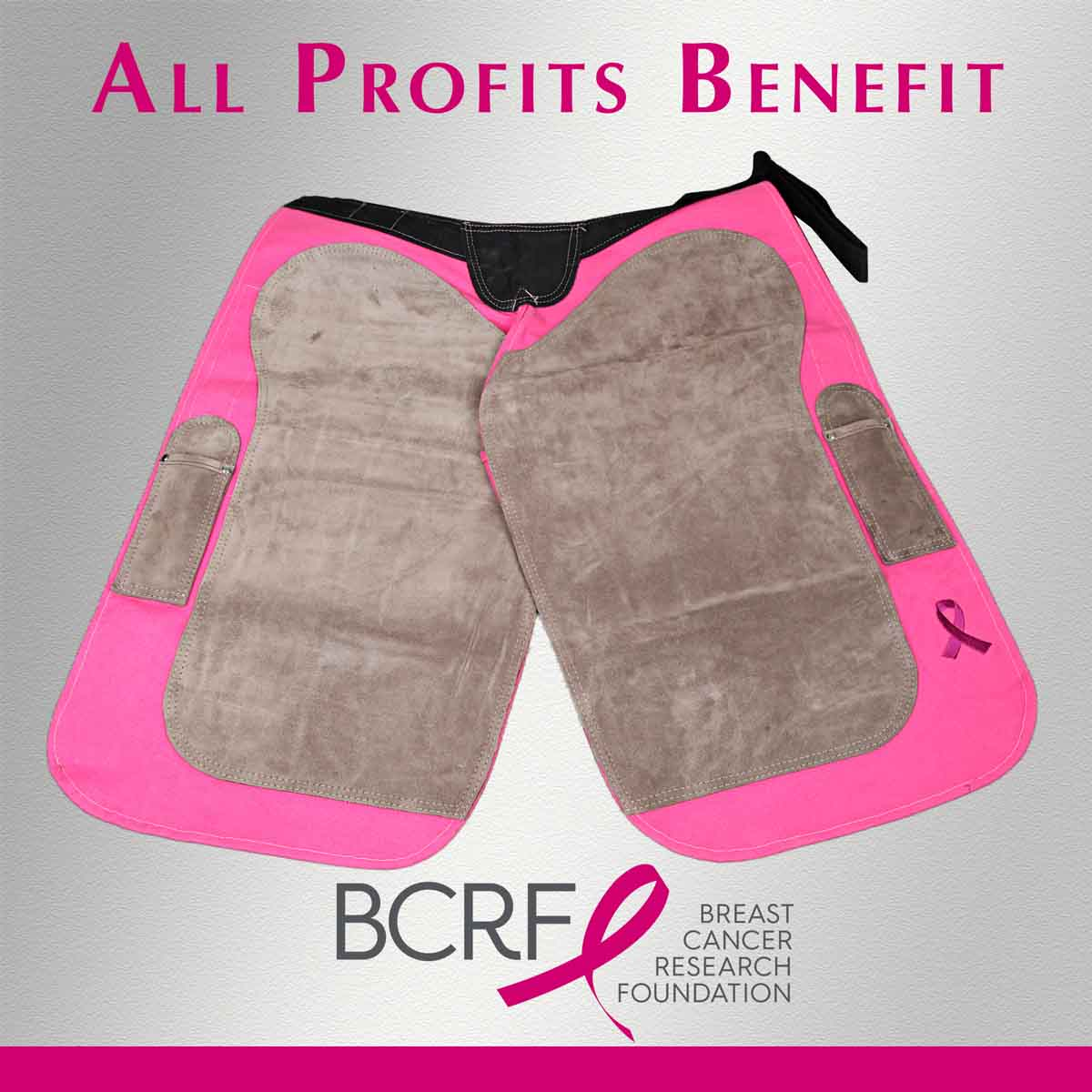 Myron McLane Pink Apron Charity