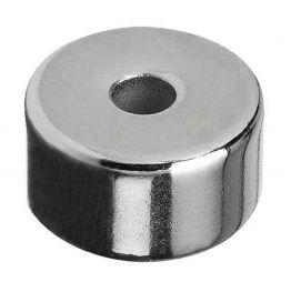 """Hercules 1""""/25mm Round Magnet With Hole"""