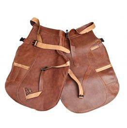 Brown Leather Apron (short)