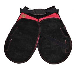 Gibbins apron -Titan Rip Stop--Red--